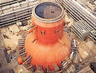 原子力発電所への納入
