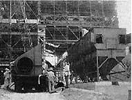 製鉄所構内での集じん装置の設置指導