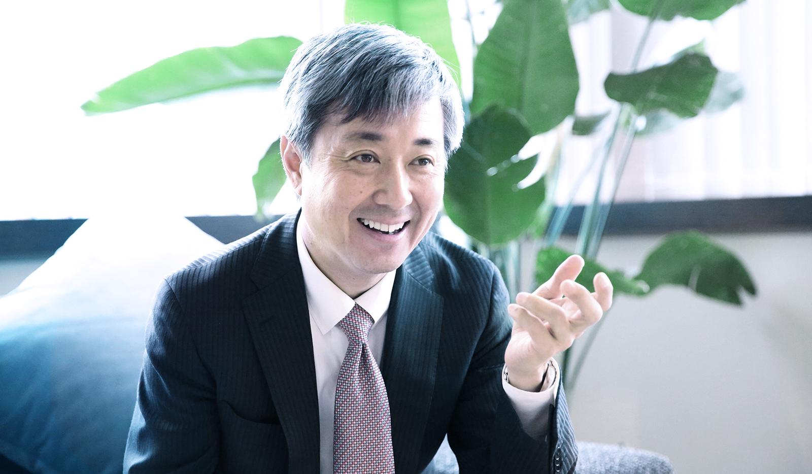 代表取締役社長 渡邉裕元写真