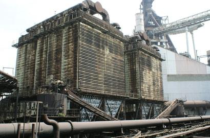 高炉周辺設備用の写真