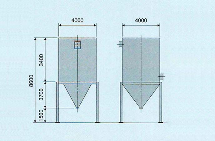 Hパルス(高温ガス除去用フィルター)写真