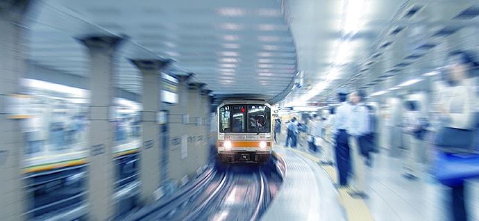 地下鉄 イメージ